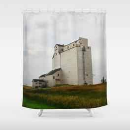 Grain Elevator on the Canadian Prairie Shower Curtain