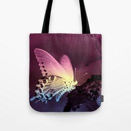 Swallowtail Gradient Tote Bag