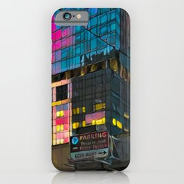 NYC Skyline at Sunset iPhone Case
