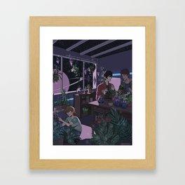 Voltrn- Plant Shop      voltrn, cartoons ,vld ,keith, kogane, pidge, gunderson, lance ,mcclain, pl Framed Art Print