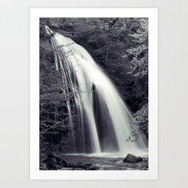 Djur-Djur Waterfall Art Print