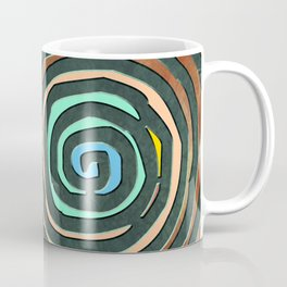 Tribal Maps - Magical Mazes #02 Coffee Mug