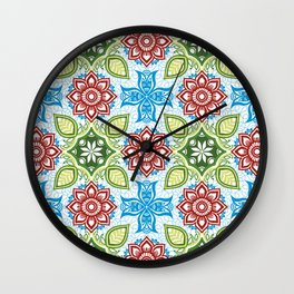 Garden Beauty Wall Clock