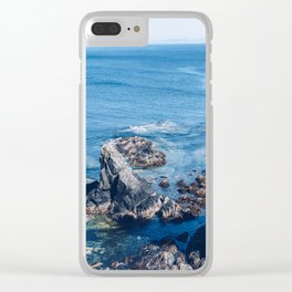 Alaska Cliff pt.2 Clear iPhone Case