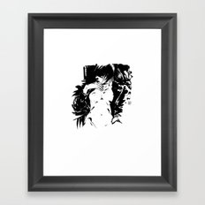Freckled Framed Art Print