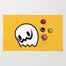 Halloween series - Popping Ghosts Rug