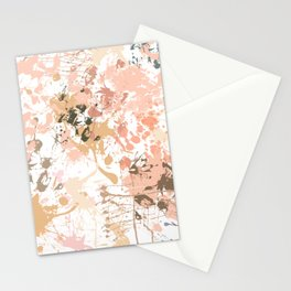 Skin Tones - Liquid Makeup Foundation - on White Stationery Cards