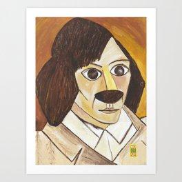 Pablo Pawcasso Art Print