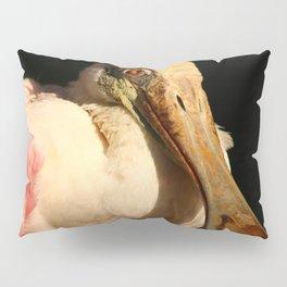 Roseate Spoonbill Portrait Pillow Sham