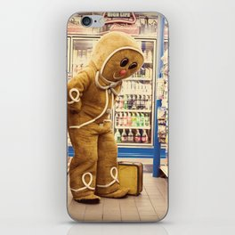 Gingerbread Man At Large Pt2 iPhone Skin