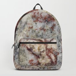 Granite, iPhone-Photo I, #stone #rock Backpack
