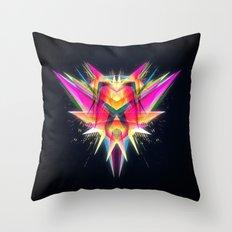 TAZOR (Abstract Future Scifi Artwork)  Throw Pillow