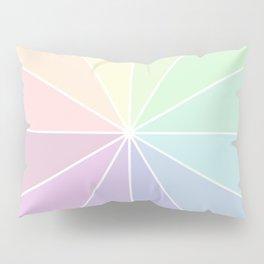 Pastels Summer Rainbow Pillow Sham