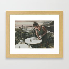 In the Absence of A Dream Framed Art Print