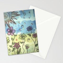 Patchy sky Stationery Cards