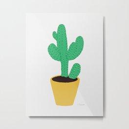 Cactus No. 3 Metal Print