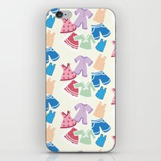 Summer clothes iPhone & iPod Skin