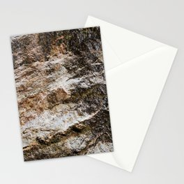 WATER OVER ROCKS. Stationery Cards