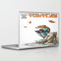 ninja Laptop & iPad Skins featuring NINJA by Don Kuing