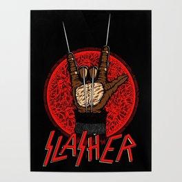 Slasher movie Poster