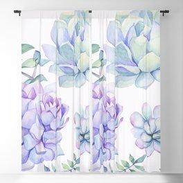 Wonderful Succulents 2 Blackout Curtain