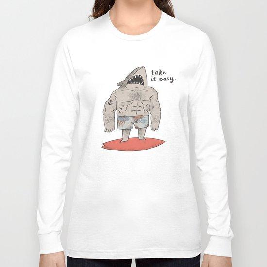 Surf Shark Long Sleeve T-shirt