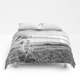 Harlequin Beach Sunset Comforters