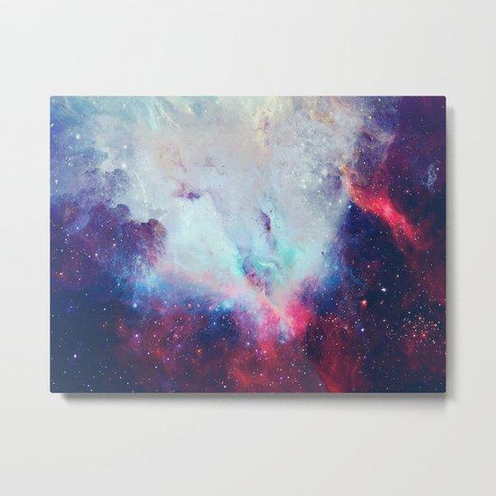 When the Universe Shine Metal Print