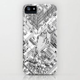 MacPaint project: NYC iPhone Case