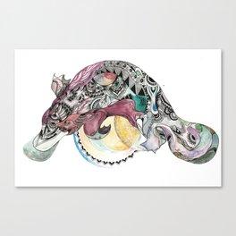 Wonder Platypus Canvas Print