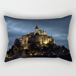 Mont-Saint-Michel Rectangular Pillow