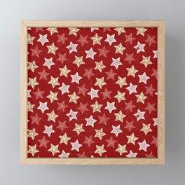 Festive Stars Framed Mini Art Print
