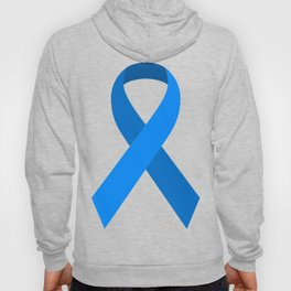 Blue Awareness Support Ribbon Hoody