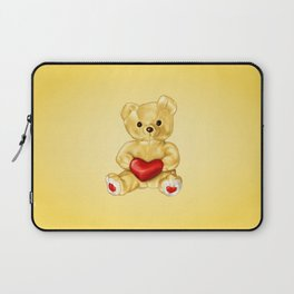 Teddy Bear Hypnotist Laptop Sleeve