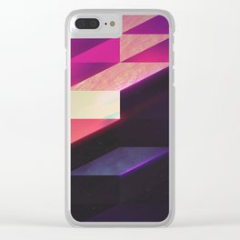 synthblyck Clear iPhone Case