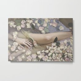 Ode to Ophelia Metal Print