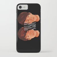 tegan and sara iPhone & iPod Cases featuring Tegan and Sara by Cas.