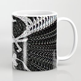 Inverted.GIVE.right.face.PointillismRecursion Coffee Mug