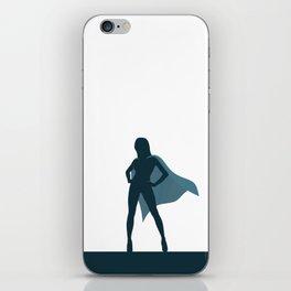 She Is A Superhero iPhone Skin