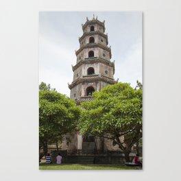 Thien Mu Pagoda Canvas Print
