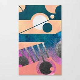 Galaxy Transition Canvas Print