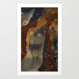 joelarmstrong_rust&gold_01 Art Print