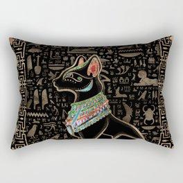 Egyptian Cat - Bastet  Rectangular Pillow