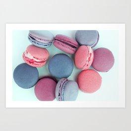 Berry Macarons Photograph Art Print