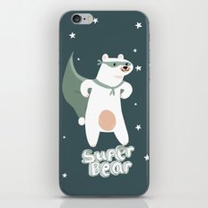 superbear iPhone & iPod Skin