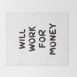 Money Throw Blanket