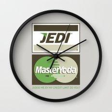 Brand Wars: Jedi Master Yoda Wall Clock