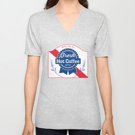 Blue Ribbon Roast Unisex V-Neck