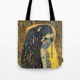 The Kiss -- Like Starlight Tote Bag