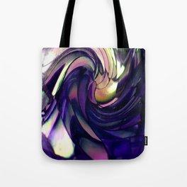 blue Paua spiral Tote Bag